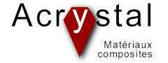 Logotipo de la compañía Acrystal